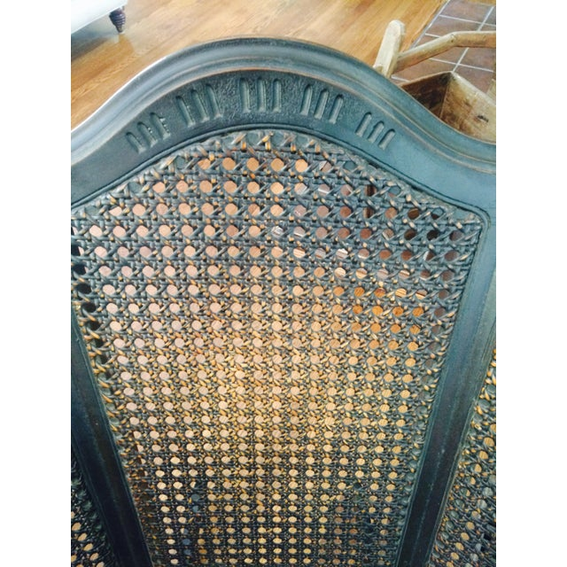 Vintage Wood & Cane Rocking Chair - Image 7 of 8
