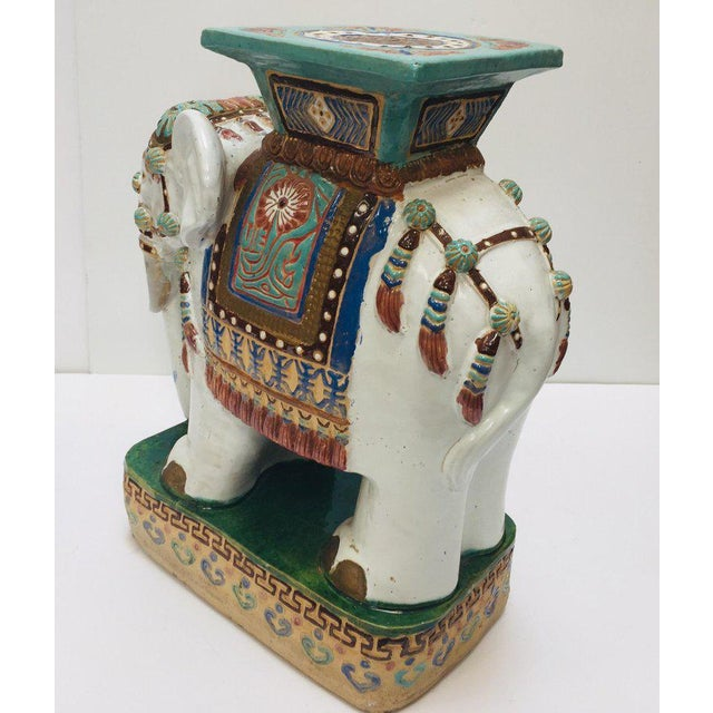 Sensational Chinese Hollywood Regency Ceramic Elephant Garden Stool Unemploymentrelief Wooden Chair Designs For Living Room Unemploymentrelieforg
