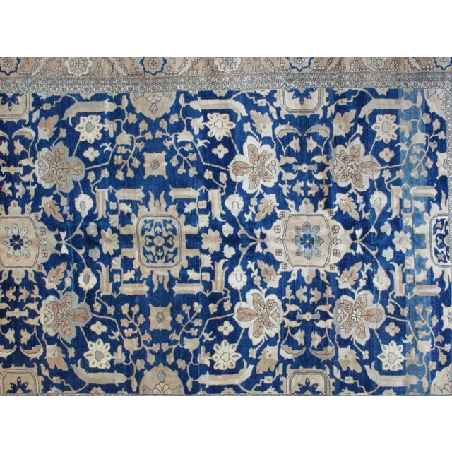 Leon Banilivi Blue Bakhshaish Carpet - 9′10″ × 12′10″ - Image 3 of 4