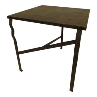 Important French Early Modern Hand Forged Console / Center Table Attr Paul Kiss