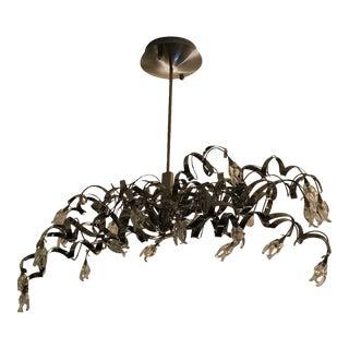 Bauhaus Modern Sculptural Chandelier