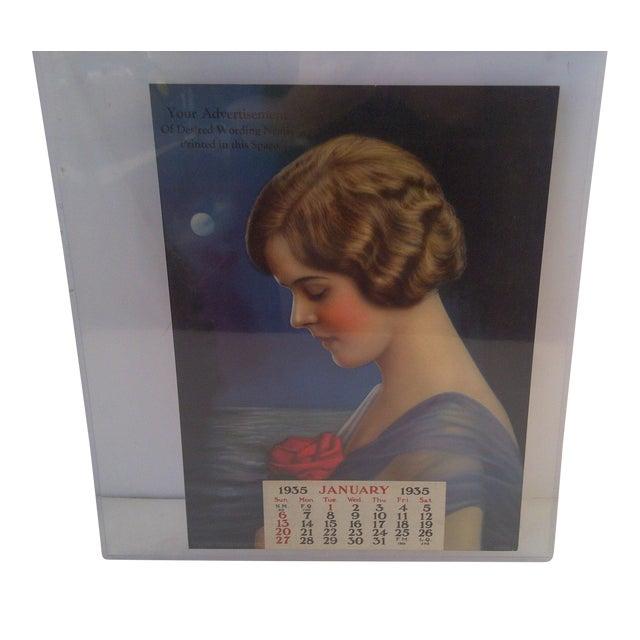 Vintage Advertising Calendar 1935 For Sale