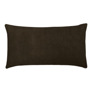 "20""x36"" Pillow x Luxe Velvet, Shadow For Sale"