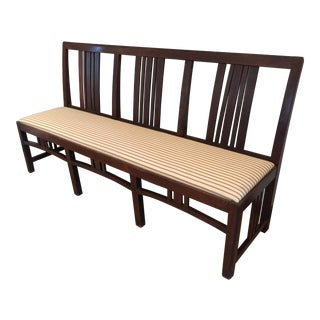 Armless Bench For Sale