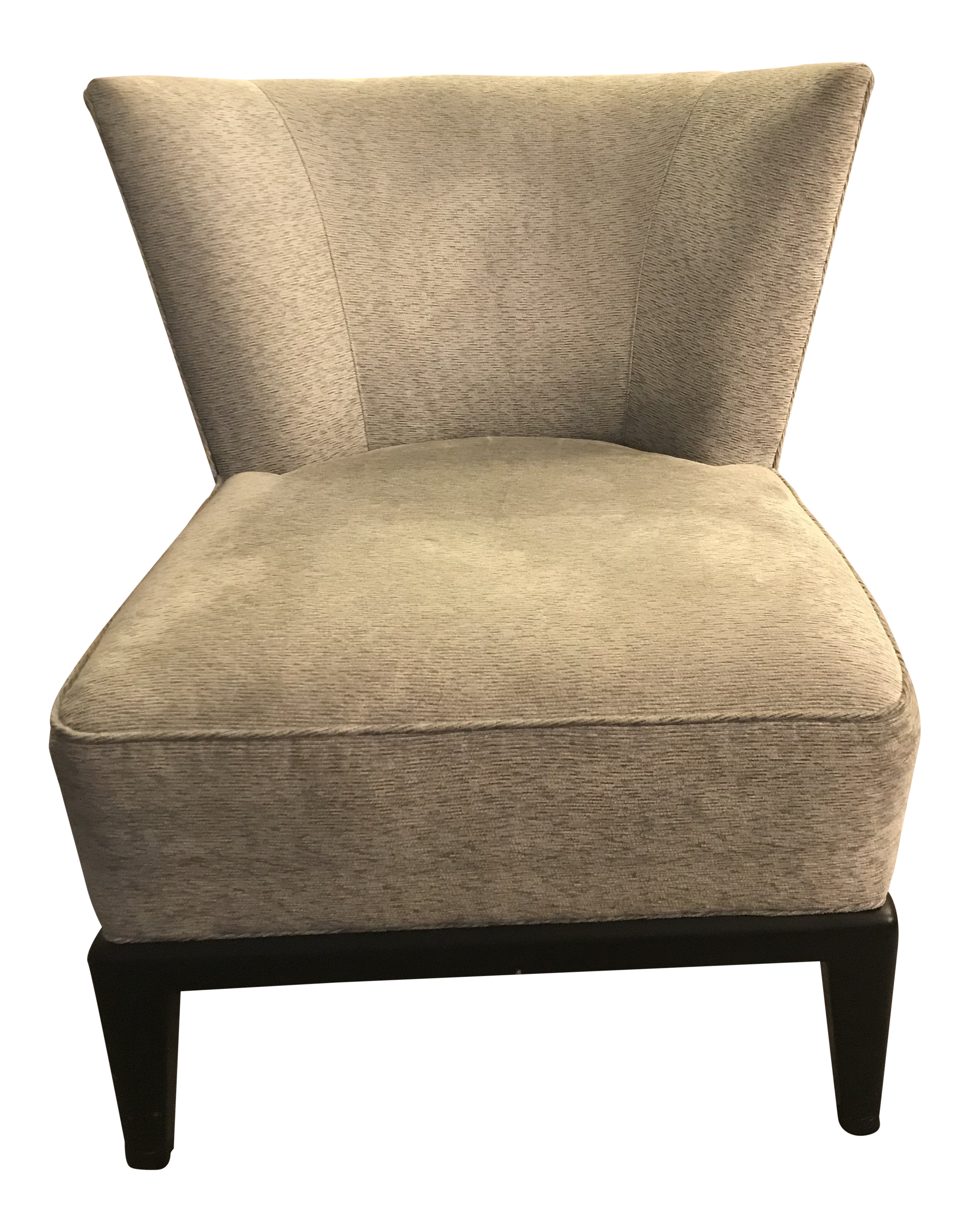 Becca stool bamboo furniture modern bamboo Desk Chair Mitchell Gold Bob Williams Gray Upholstered Accent Chair Padstyle Gently Used Mitchell Gold Bob Williams Furniture Up To 70 Off