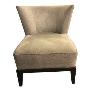 Mitchell Gold + Bob Williams Gray Upholstered Accent Chair For Sale