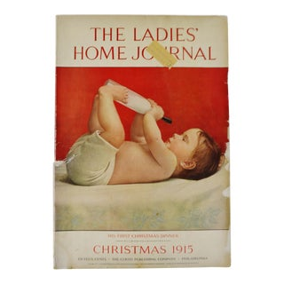 1915 The Ladies Home Journal Christmas Edition, His First Christmas Dinner For Sale