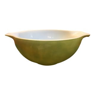 Mid-Century Pyrex Green Mixing Bowl