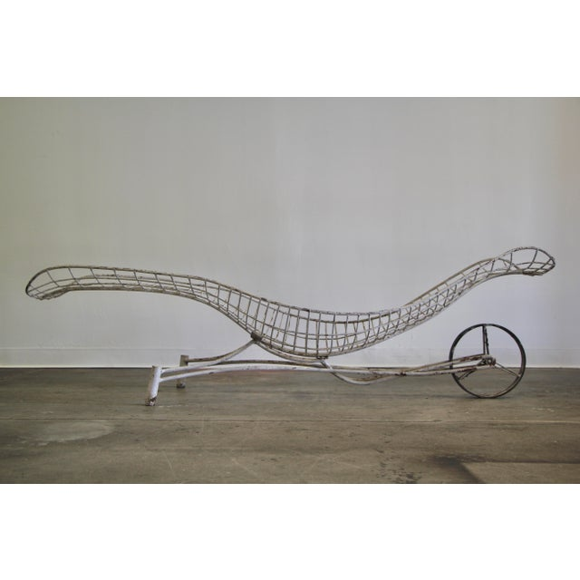 1950s Vintage Vladimir Kagan Capricorn Chaise Lounge For Sale - Image 12 of 12
