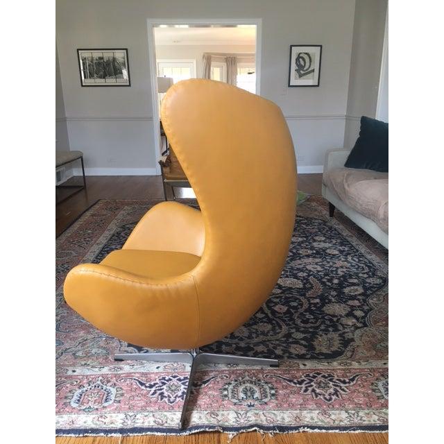 Mid Century Modern Style Egg Chair Chairish