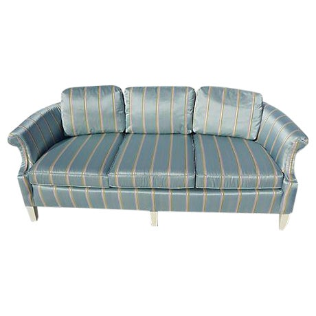 French -Style Petite Sofa - Image 1 of 6