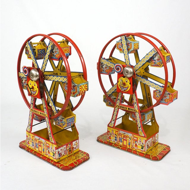 Antique Hercules Ferris Wheels - A Pair - Image 3 of 8