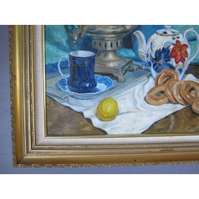 'Tea Time in the Ussr' Original Painting - Image 6 of 8