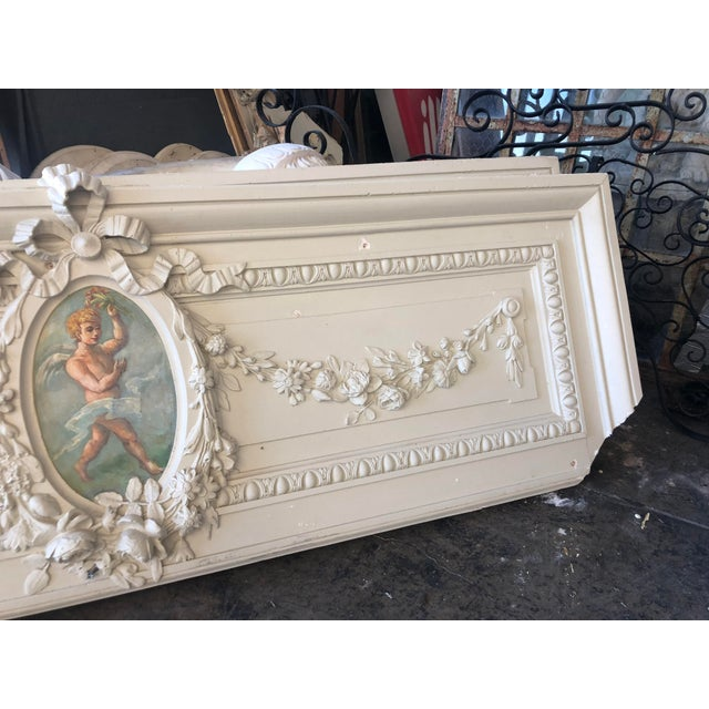 Cherub Plaster Relief For Sale - Image 4 of 13