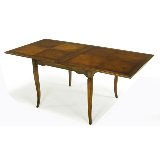 Old Colony Furniture Walnut Flip Top Games Table - Image 3 of 10