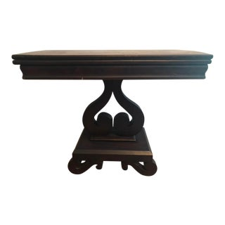 American Empire Card Table For Sale