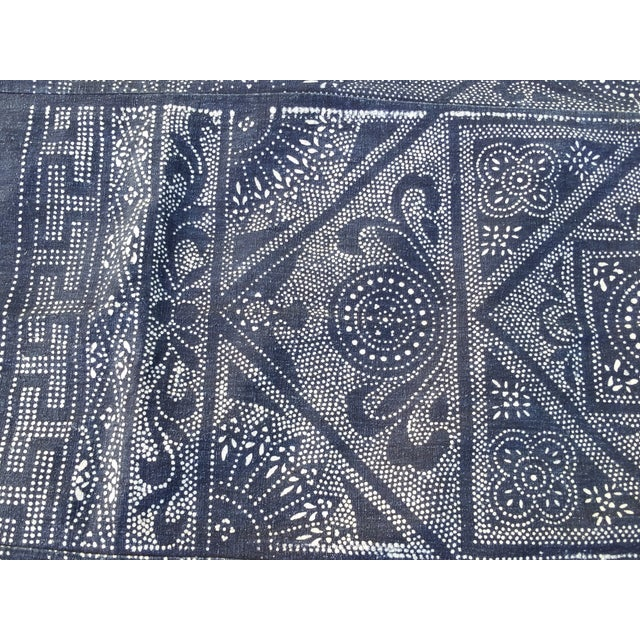 Softly Worn Batik Bed Cover - Image 4 of 6