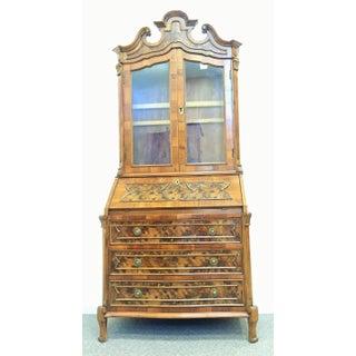 Late 18th Century English George III Mahogany Bureau Bookcase 'Secretaire' Preview