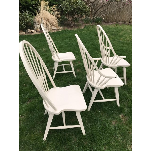 Farmhouse Windsor Chairs - Set of 4 - Image 7 of 9