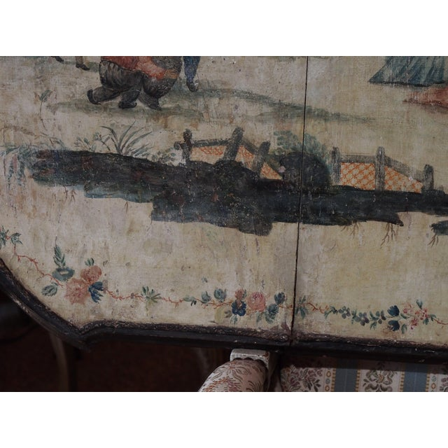 18th Century Italian Chinoiserie Architectural Panel For Sale In New Orleans - Image 6 of 8