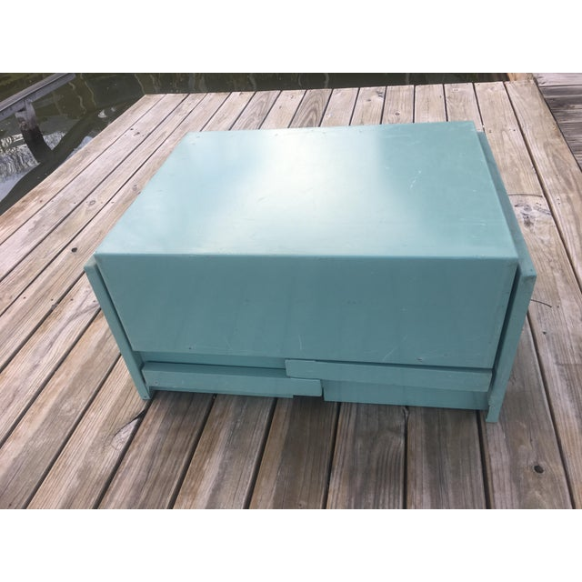 20th Century Industrial Aluminum Military Campaign Tanker Desk For Sale - Image 11 of 12