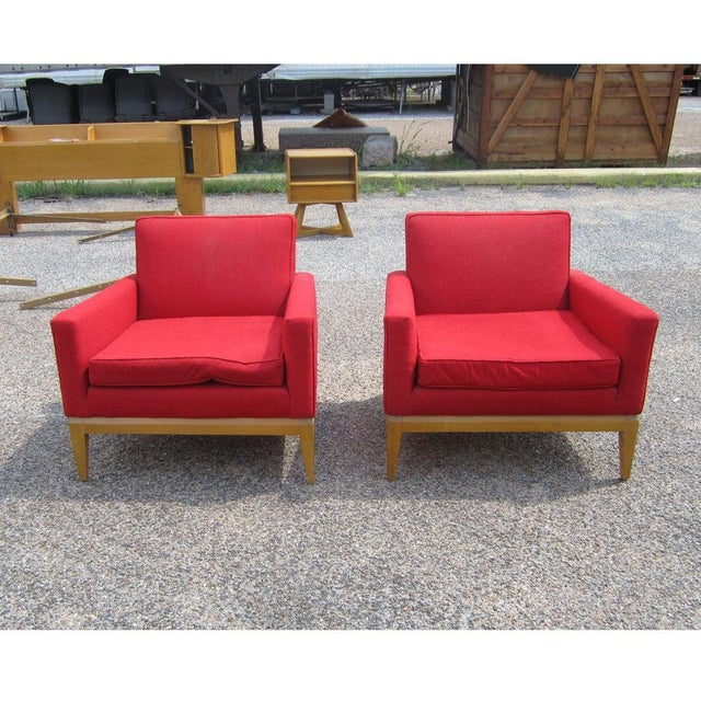 Mid-Century Modern Pair Vintage Mid-Century Heywood Wakefield M1161g Lounge Chairs For Sale - Image 3 of 6