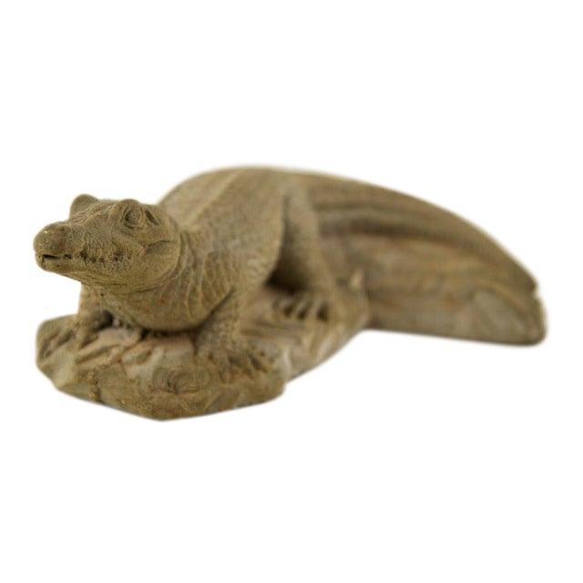 Frostino Giannelli Plaster Crocodile For Sale