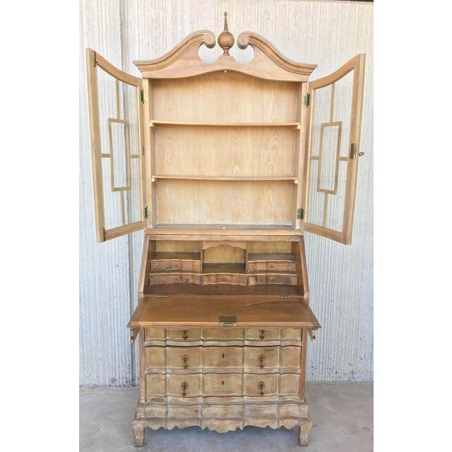 20th Century George III Secretary Bookcase For Sale - Image 4 of 13