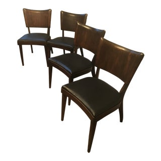 "1950s Vintage Heywood Wakefield ""Stingray"" Dining Chairs - Set of 4"
