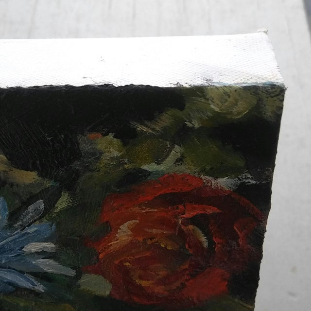 Paula McCarty Summer Bouquet Still Life Painting For Sale - Image 4 of 6