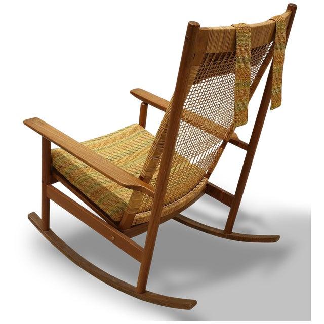 DUX Mid-Century Modern Hans Olsen for Dux Rocking Chair For Sale - Image 4 of 6