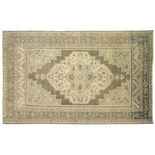 "Nalbandian - 1960s Turkish Oushak Carpet - 6'11"" X 11' For Sale"