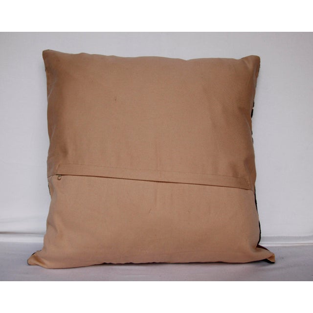 Handwoven Suzani Pillow Cover For Sale - Image 4 of 11