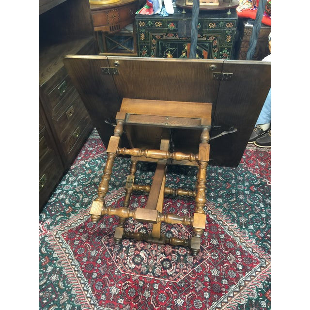 Baker Furniture Company Drop-Leaf Table - Image 8 of 8