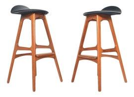 Image of Danish Modern Bar Stools