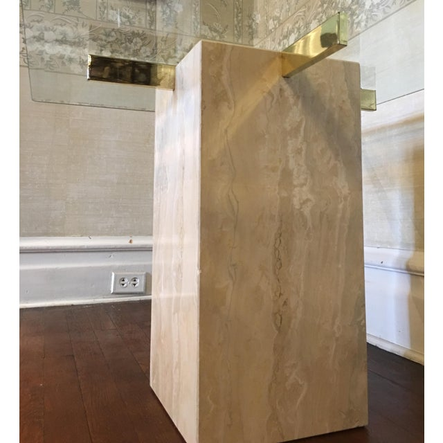 Mid-Century Travertine Side Tables - A Pair - Image 9 of 10
