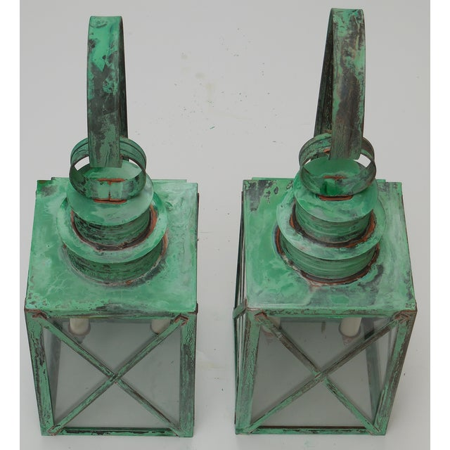 Copper Lanterns - A Pair - Image 11 of 11