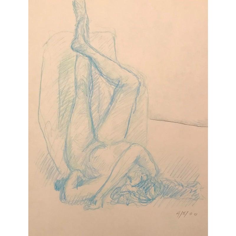 Movie nude oil pastel drawings nude sexy