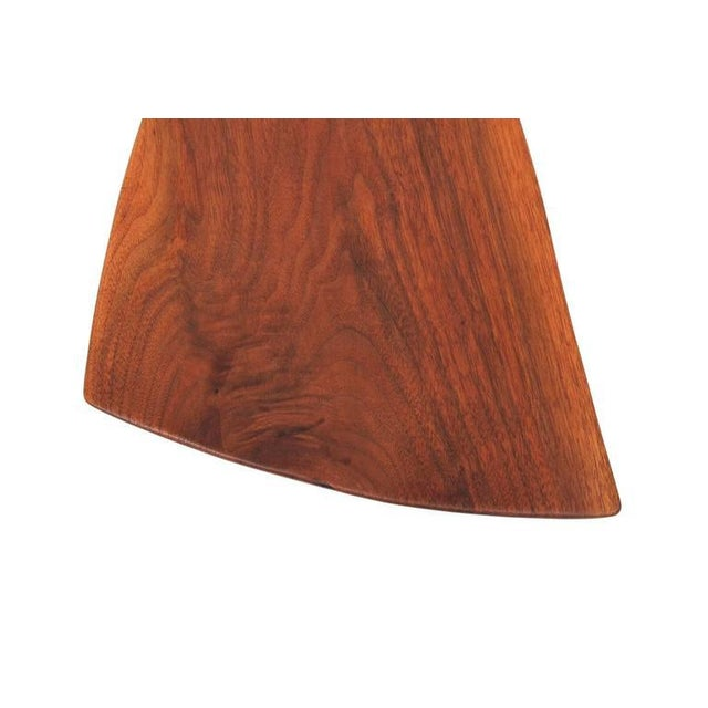 Sculptural Walnut Cutting Board by Dirk Rosse For Sale - Image 9 of 11