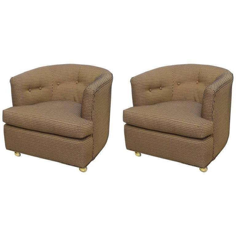 Gorgeous Pair Of Milo Baughman Swivel Or Roller Chairs, 1970s, USA   Image 2