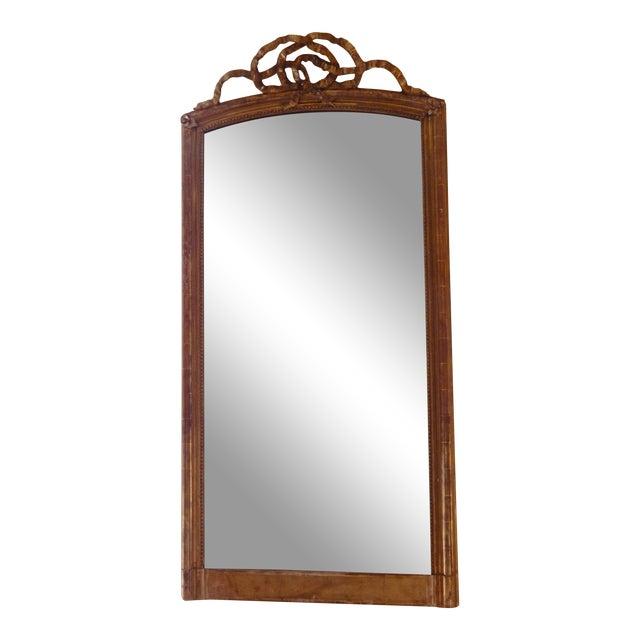 19th Century Louis XVI Gilt Mirror For Sale