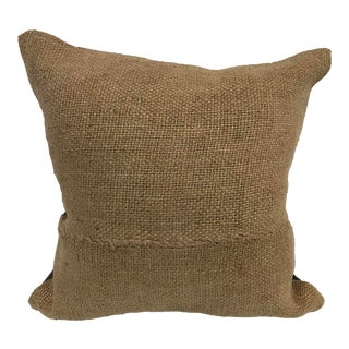 Turkish Handmade Designer Hemp Kilim Pillow Cover For Sale