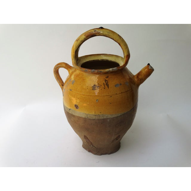 Antique French Pitcher Cruche For Sale In Houston - Image 6 of 10