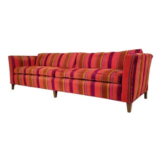 Incredible Four Seat Sofa by Henredon For Sale