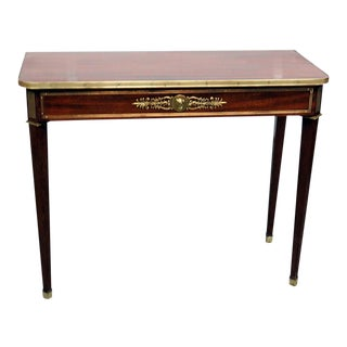 Directoire Style Console Table For Sale