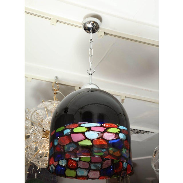 Vintage Murano Multicolored Pendant For Sale In New York - Image 6 of 7