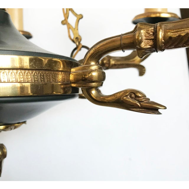 Vintage First French EmpireStyle Chandelier For Sale In Miami - Image 6 of 8