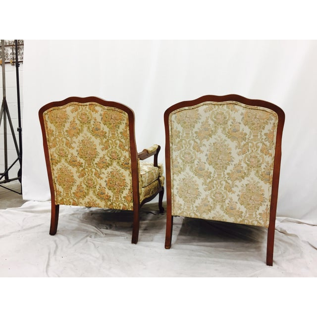 Vintage French Style Arm Chairs - A Pair - Image 11 of 11