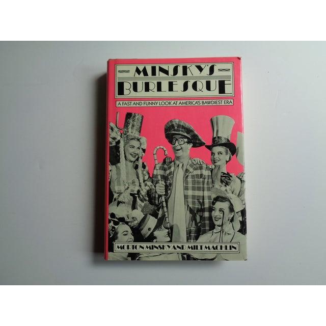 "1980s Vintage ""Minsky's Burlesque"" Bawdy Entertainment Book For Sale - Image 5 of 5"