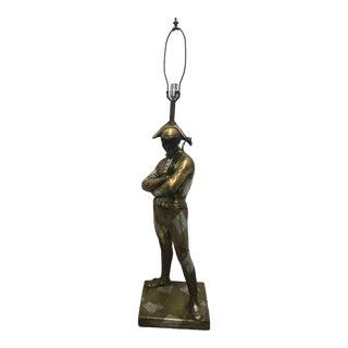 Mid Century Harlequin Lamp in Original Finish For Sale
